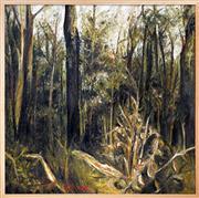 Sale 8339A - Lot 565 - Arthur Boyd (1920 - 1999) - Untitled, 1943-1945 (Hunter Series) 91 x 91cm