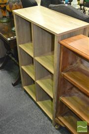 Sale 8440 - Lot 1058 - Pair of Open Bookcases