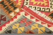 Sale 8445K - Lot 6 - Summer Afghan Tribal Kilim Rug , 152x94cm, Finely handwoven in Northern Afghanistan using high quality local wool. Vibrant summer co...