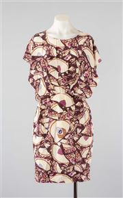 Sale 8740F - Lot 61 - A Karen Walker printed silk dress, UK 10