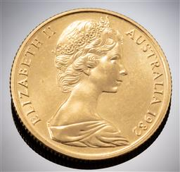 Sale 9153C - Lot 319 - AUSTRALIAN TWO HUNDRED DOLLAR GOLD COIN; Brisbane Commonwealth Games, 22ct gold, wt. 10.02g.