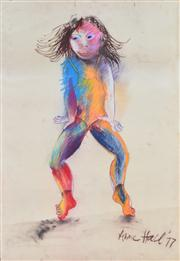 Sale 8410A - Lot 5060 - Anne Hall (1945 - ) - Untitled, 1977 99.5 x 70.5cm (sheet size)