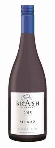 Sale 8515W - Lot 48 - 12x 2015 Brash Vineyard Shiraz, Margaret River.  95 POINTS – Huon Hooke (ranked #1 of 22 tasted from SW Australia) 5 Stars Win...