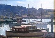 Sale 8544A - Lot 5005 - Lance Solomon (1913 - 1989) - Morning Light, Sydney 1936 23.5 x 33cm