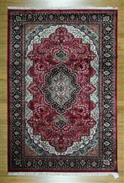 Sale 8625C - Lot 78 - Indian Silk Jaipor 277cm x 185cm