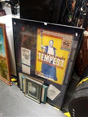 Sale 8682 - Lot 2075 - Group of (4) signed Patrick Stewart memorabilia, framed various sizes