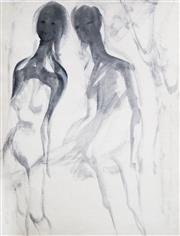 Sale 8722A - Lot 5048 - Ralph Trafford Walker (1912 - 2003) - Ghostly Figures, 1970s 38 x 29.5cm