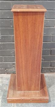 Sale 8971 - Lot 1003 - Timber Plinth (H:88 x W:27cm2)