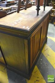Sale 8390 - Lot 1062 - A Late 19th Century Cedar Aesthetic Style Cabinet with two panel doors on plinth base.