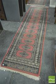 Sale 8392 - Lot 1085 - Hall Runners x 2 (approx 80 x 295cm)
