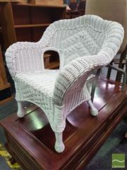Sale 8495F - Lot 1020 - Kids Cane Chair