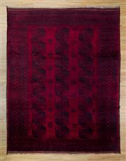 Sale 8566C - Lot 53 - Antique Afghan Turkman 368cm x 292cm