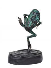 Sale 8358 - Lot 566 - John Olsen (1928 - ) - Frog, 2005 h. 8cm