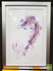 Sale 8449 - Lot 2008 - Artist Unknown (XX) - Reflective 61.5 x 39.5cm (frame size: 79 x 26.5cm)