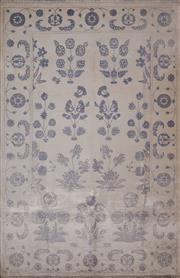 Sale 8447C - Lot 4 - Jaipor Silk & Wool 280cm x 184cm