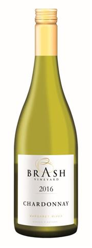 Sale 8515W - Lot 50 - 12x 2016 Brash Vineyard Chardonnay, Margaret River.  GOLD Medal - 2017 Australian Small Winemakers Wine Show BRONZE Medal - Bl...