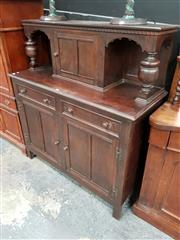 Sale 8688 - Lot 1009 - Oak Court Cabinet