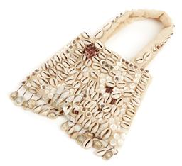Sale 9091F - Lot 87 - A DOROTHY MAY SHELL FRONTED HAND BAG