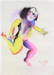 Sale 8339A - Lot 523 - Anne Hall (1945 - ) - Untitled, 1977 99.5 x 70.5cm (sheet size)