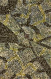 Sale 8394 - Lot 581 - Gracie Morton Pwerle (c1956 - ) - Womens Travelling Tracks 198 x 118cm