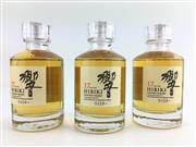 Sale 8439 - Lot 736 - 3x Suntory Whisky 17YO Hibiki Blended Japanese Whisky - 50ml miniature bottles