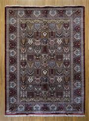 Sale 8566C - Lot 54 - Indian Silk & Wool 278cm x 374cm