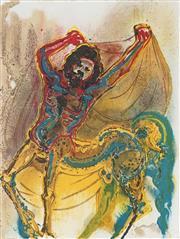 Sale 8773A - Lot 5031 - Salvador Dali (1904 - 1989) - Cretan Centaur 39 x 29.5cm (frame: 82 x 65.5cm)