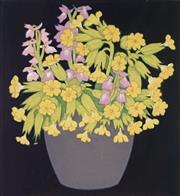 Sale 9001 - Lot 566 - Hall Thorpe (1874 - 1947) - Still Life 16.5 x 15 cm (mount: 42 x 36.5 cm)