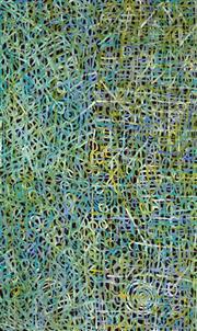 Sale 8394 - Lot 580 - Betty Mbitjana (1955 - ) - Bush Melon 146 x 93cm