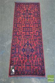 Sale 8418 - Lot 1069 - Afghan Hand Knotted Runner (150 x 50cm)
