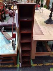 Sale 8601 - Lot 1123 - Timber CD Stand
