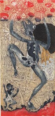 Sale 8658A - Lot 5009 - Dennis Nona (1973 - ) - Warti Dhogai - Witch 49 x 23cm