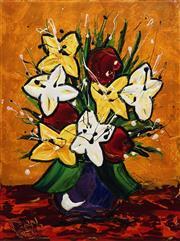 Sale 8738 - Lot 517 - Dean Vella (1958 - ) - Spring Blooms 60 x 45cm