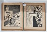 Sale 8822B - Lot 863 - Folio Ten Cities of Maghreb, wood engravings by Jran Galotti & Text, pub. L. Vogel -