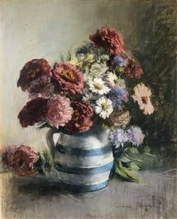 Sale 9142A - Lot 5033 - JANET CUMBRAE STEWART (1883 - 1960) - Still Life 45 x 36.5 cm (frame: 63 x 54.5 cm)