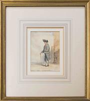 Sale 8575J - Lot 33 - French School - Naval Officer