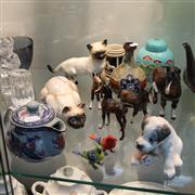 Sale 8306 - Lot 87 - Beswick Horse Figures (2 AF) with Other Ceramics incl Doulton Burslem