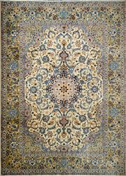 Sale 8321C - Lot 11 - Persian Kashan 390cm x 300cm RRP $5000