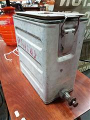 Sale 8476 - Lot 1014 - Vintage Qantas Water Dispenser