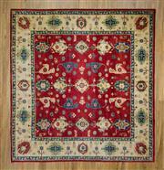 Sale 8566C - Lot 55 - Afghan Kazak 261cm x 274cm