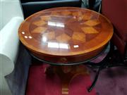 Sale 8680 - Lot 1029 - Round Occasional Table