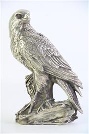 Sale 8860V - Lot 70 - Silvered Chinese Figure Of An Eagle H:21cm