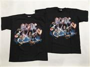 Sale 8893M - Lot 62 - Pair of ACDC European Tour Tee Shirts, both size XL