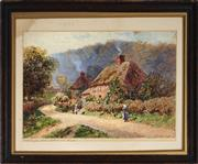 Sale 9053 - Lot 2012 - Howard Gaye - Selborne Hampshire 18.5 x 26.5 cm (frame: 28 x 35 x 3 cm)