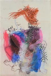 Sale 8339A - Lot 597 - Anne Hall (1945 - ) - Untitled, 1978 99.5 x 70.5cm (sheet size)