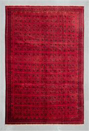 Sale 8480C - Lot 28 - Afghan Qunduzi 290cm x 200cm