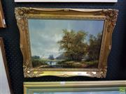 Sale 8613 - Lot 2018 - M Jeffries (English) - Homeward oil on board 29.5 x 39.5cm, signed lower right