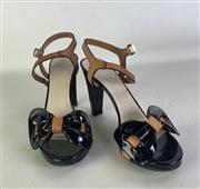 Sale 8910F - Lot 96 - A pair of Armani Collezioni sandal pumps, size 39 with box