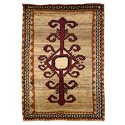 Sale 8918C - Lot 4 - Persian Vintage Tribal Gabbeh, 120x170cm, Handspun Wool