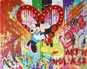 Sale 9034A - Lot 5028 - Nastya Rovenskaya (1976 - ) - Mickey Mouse 61 x 76 cm (frame: 64 x 80 x 5 cm)